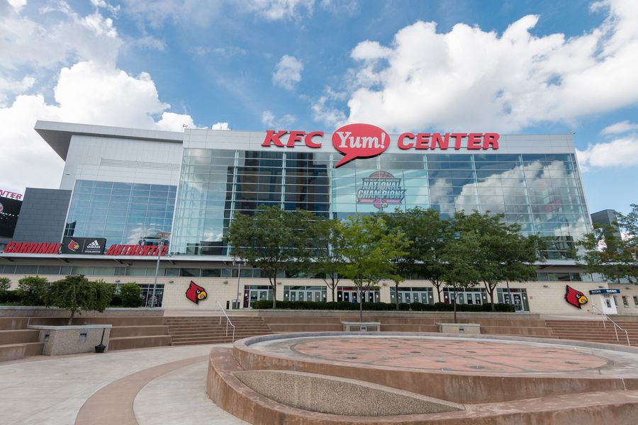 Center Sports Arena In Downtown Louisville