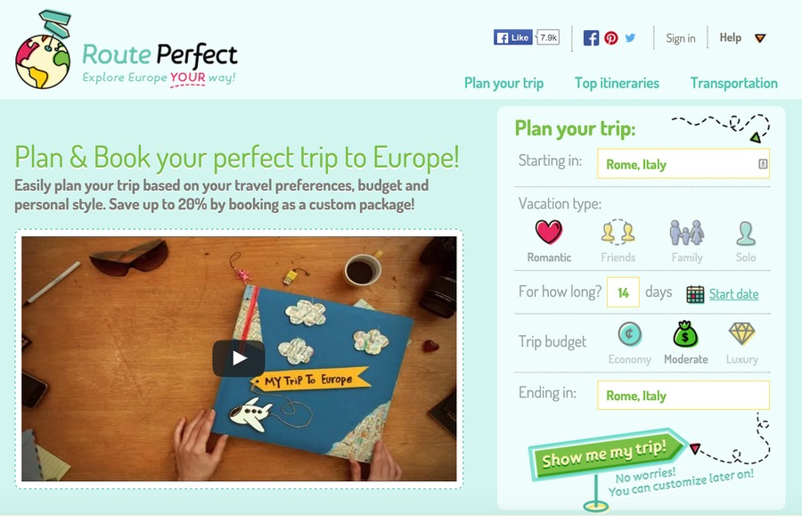 RoutePerfect Review: Simplify Your European Vacation