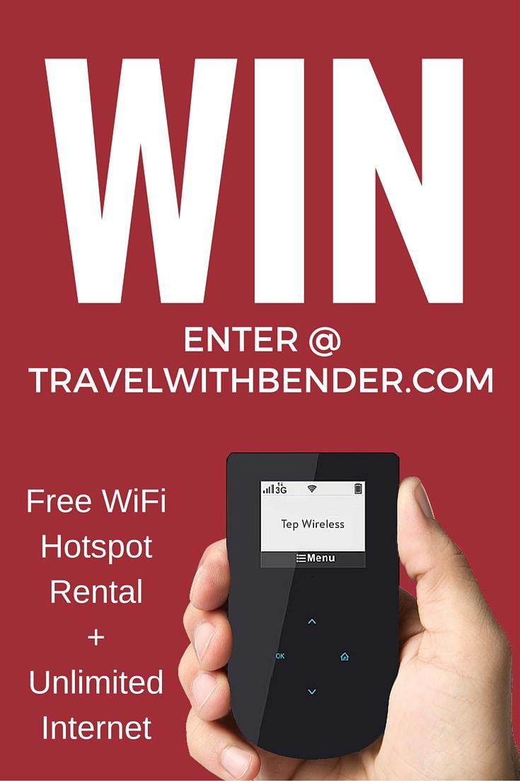 £200 of Free WiFi Hotspot Rental + Unlimited Internet