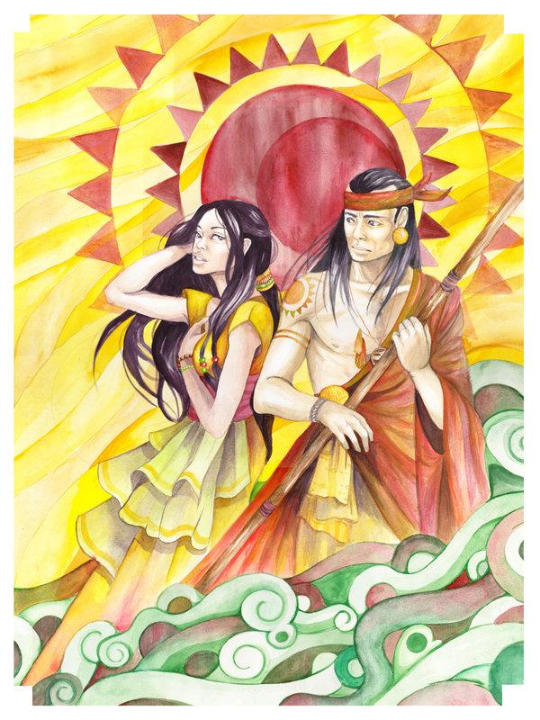 Creation myth of the philippines