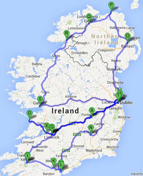 Ultimate Irish Road Trip Guide See Ireland In 12 days