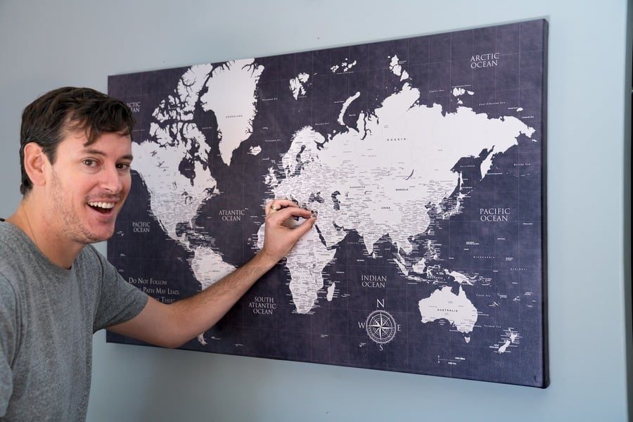 Push Pin Travel Map Push Pin Travel Map: Every Travel Lover Wants One Of These Push Pin Travel Map
