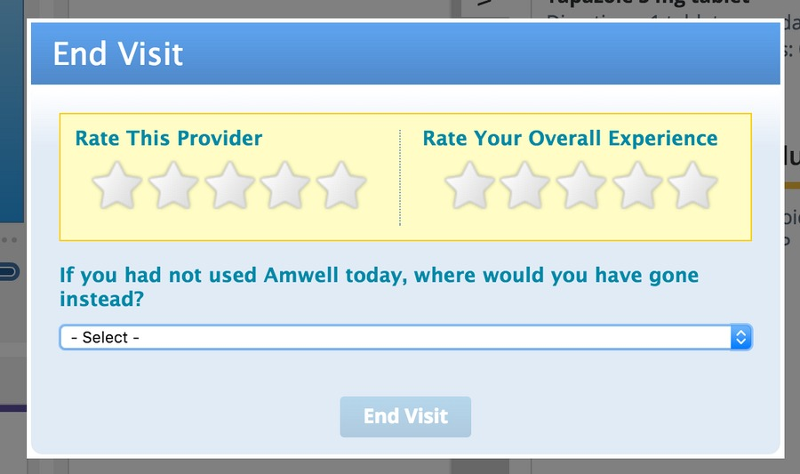 amwell  when getting to a doctor is just too hard