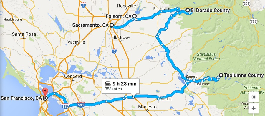 6 Day California Road Trip Sacramento To San Francisco
