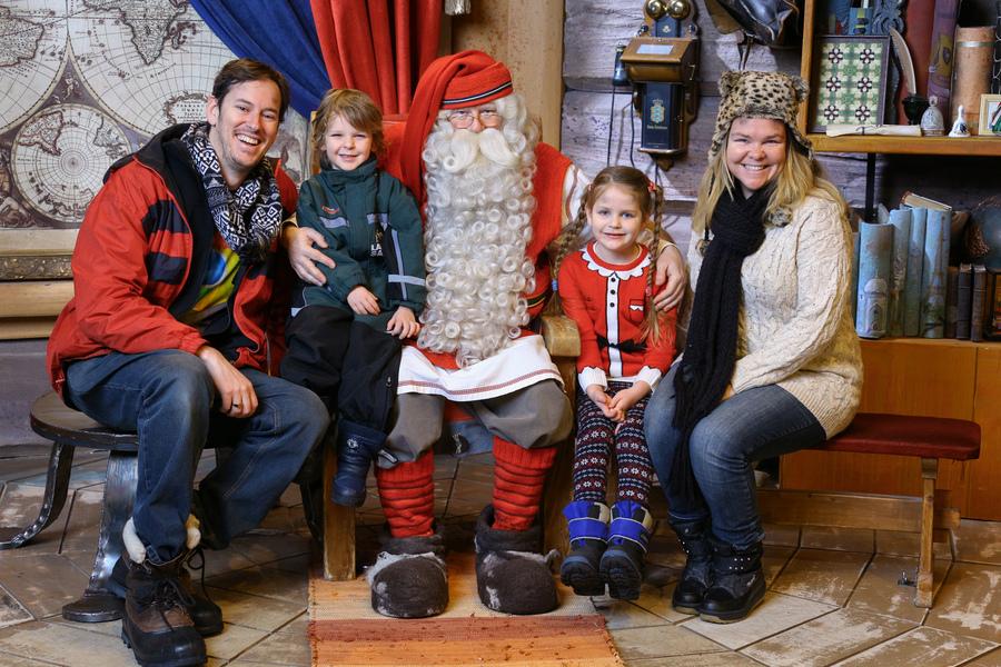 Meeting The Real Santa At Santa Claus Village Rovaniemi