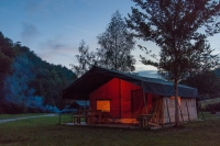 Glamping at Camping Kautenbach, Luxembourg