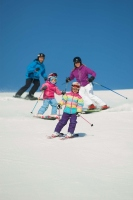 Family skiing resorts: Hitting the slopes together