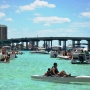 What is a Crab Island Excursion in Destin, Florida