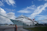 Cruising the Bahamas on Carnival Sensation