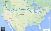 Phase 5 #motherofallroadtrips: North Coast-To-Coast USA