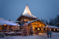 Meeting the REAL Santa at Santa Claus Village, Rovaniemi